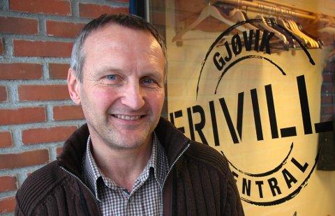 NÆRINGSRÅDGIVER: Etter seks år som leder ved Gjøvik frivilligsentral, blir Bjørn Rognstad næringsrådgiver i kommunen.
