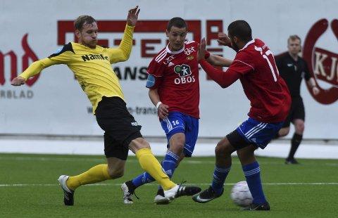 TIL LILLESTRØM: Anton Henningsson skal trene med Lillestrøm de neste tre dagene.