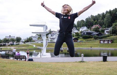 TAR SATS: Mari Finstad Bergum bytter ut Fastland og Gjøvik med sjøen og og Larvik.