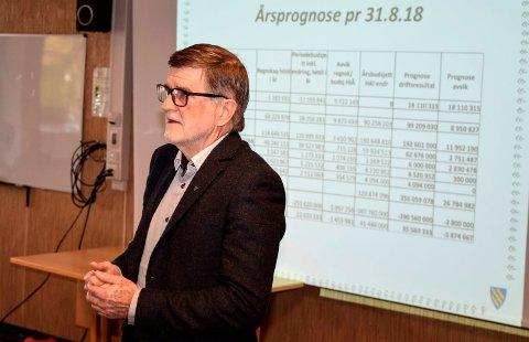 HELLIG OVERBEVIST: - Jeg er hellig overbevist om at vi ikke kan fortsette som nå, sa rådmann Arne Skogsbakken da formannskapet i Søndre Land drøftet kommunens driftsøkonomi.