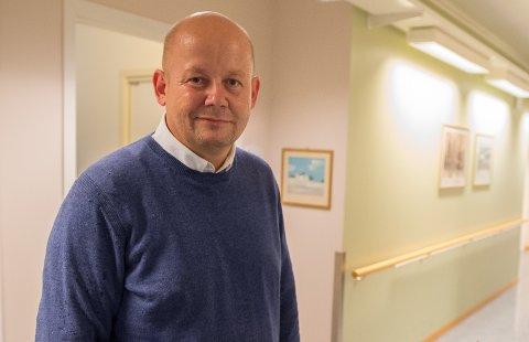 NYBAKT PAPPA: Gjøviks ordfører Torvild Sveen (45) har blitt pappa for første gang. Han og kona har fått en gutt og alt står bra til med den nye familien.