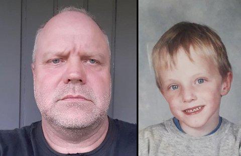 MISTET SØNNEN: Roger Åsheim mistet sønnen Johannes i et hundeangrep i 2002. Han sier lørdagens hendelse i Brumunddal vekker sterke minner.