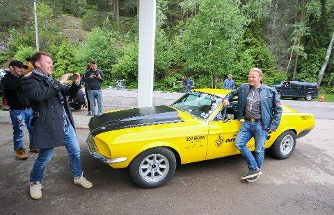 FRA SKI: Lillegul fra Ski og Anders Baasmo Christiansen spiller begge sentrale roller i Børning 3.