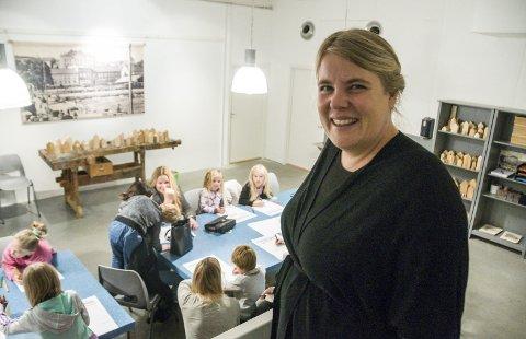Glad for aktivitet: Museumsrådgiver Ane Ringheim Eriksen var fornøyd med arrangementet.