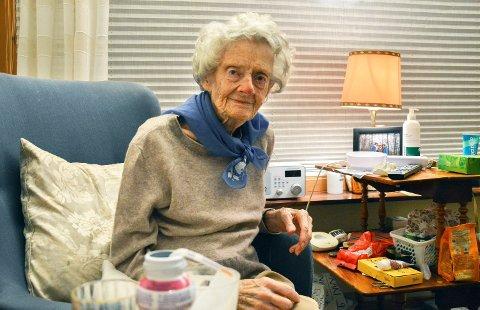 Mossen Thaulow fyller 100 år på lørdag 16. desember, og er spent på feiringen med hele familien.