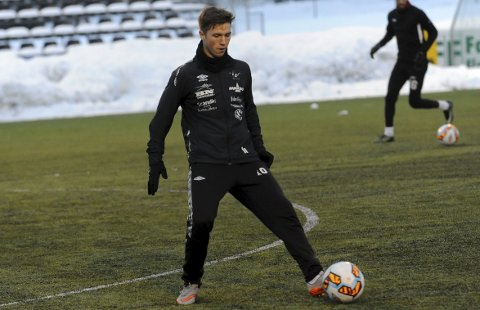 BLIR IKKE FFK-SPILLER: Remi André Svindland har trent med Fredrikstad denne uken. Nå er det klart at 20-åringen ikke blir en del av Per-Mathias Høgmo sitt lag.