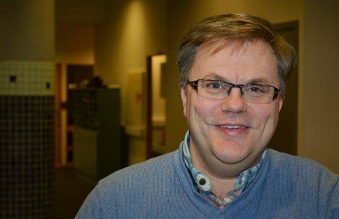 NYTT LIV: Magne Berg har nylig flyttet fra Kristiansund til Elverum. Nå vil han blåse nytt liv i Elverum KrF. (Foto: Bjørn-Frode Løvlund)