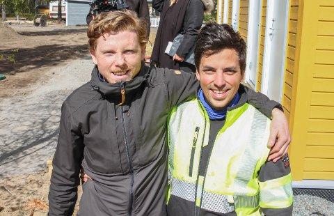 POPULÆR SOMMERJOBB: Montebello-sjefene Jermund Udnæseth (t.v.) og Lars Christian Amundsen gleder seg over mange jobbsøknader. – Vi ønsker å være tidlig ute for å bygge opp et godt team til sommeren, sier de to.