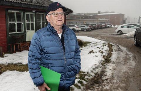 BETENKT: – Eldrerådet ser det ikke som noen godt løsning å flytte tjenestetilbudet ved Kjølarønningen til Flisabo, sier leder i eldrerådet, Olav Nordermoen.