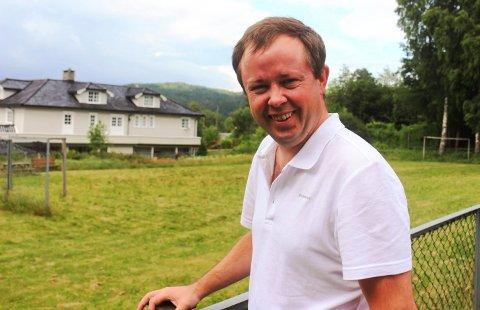 FORTSETT KAMPEN: Ordfører Robin Kåss.