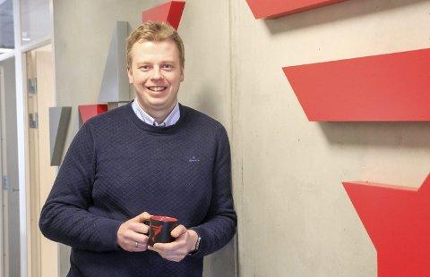 600 KVADRAT: Jan Erik Laagasken (41), daglig leder i Protekt IT, leier cirka 600 kvadrat i Powerhouse. Nylig kjøpte han seg inn og eier nå 20 prosent av det lokaleide selskapet.