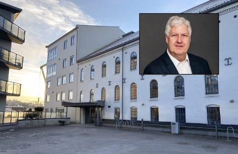 IKKE FLYTTET INN: Den nyopprettede statlige virksomheten Dagligvaretilsynet skal holde til hos Forbrukertilsynet på Vestsida i Porsgrunn. Engebretsen har ennå ikke flyttet inn som følge av pandemien, og jobber derfor fra Oslo inntil videre.