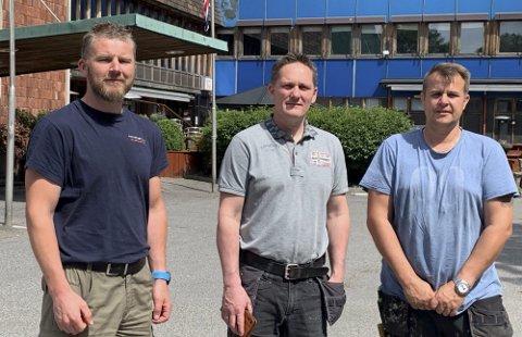 19,5 MILLIONER: Stefan Gundersen, Remi Gundersen og Jarle Grønland ervervet eiendommen for 19,5 millioner kroner i 2019. Hva salgsprisen endte på nå, ønsker de ikke å kommentere.
