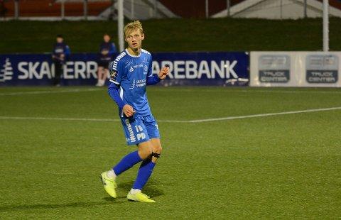 Brage Evensen hadde en meget god debut fra start mot Fredrikstad II.