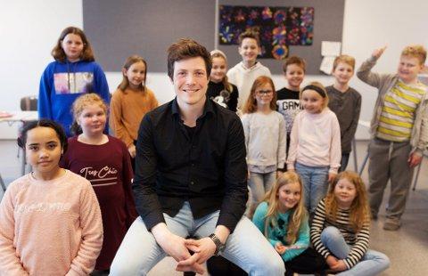 Ny stilling: Ole-Jørgen Forfang-Ekeli (33) begynner til høsten i en ny stilling som rektor i hjembyen Halden.