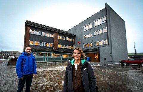 Rana kommune skal samlokalisere helse og omsorgstjenester i NAV-bygget i Vika. Morten Hagh og Randi Ødegaard.