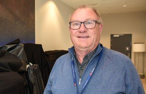 - Det jeg sa om storflyplass på Drivkraftkonferansen, står jeg for, sier Arnt Frode Jensen fra Herøy.