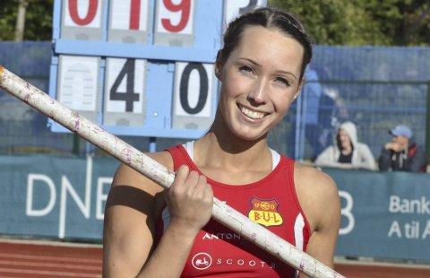 God som gull: Lene Retzius fra Moelv står bokført med 15 gullmedaljer i norske mesterskap siden 2011. Fredag skal hun i aksjon under junior-NM. Foto: Arkiv