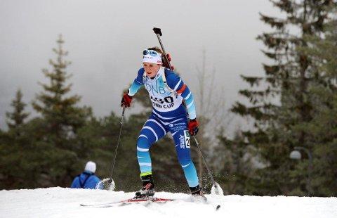 Sigrid Bilstad Neraasen bommet i alt ni ganger på helgas to renn og da blir det neppe IBU-deltakelse i Sveits om to uker.