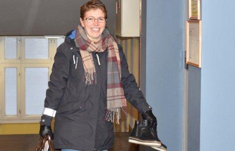 Inviterer til nytt medlemsmøte: Kjerstin Lundgård fungerende leder i Ringsaker Arbeiderparti.