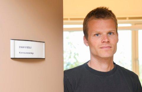 KOMMUNEOVERLEGE: Einar Sannerud Stødle.