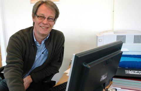 Sven Eystein Lindberg, leder av Ringerike Etablerersenter.