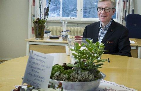 Torger Ødegaard, rådmann i Hole kommune.