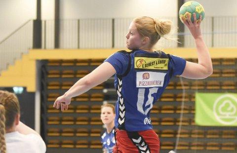 Tonje Klevstad scoret seks mål for HSK mot Orkanger.