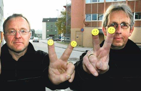 – Et smilefjes på døra er et kvalitetsstempel, skriver ansvarlig redaktør i Ringerikes Blad, Bjørn Harald Blaker.