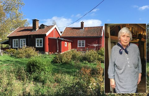 ENEBOER I PARADIS: Berit Gulbrandsen er eneste fastboende igjen på Bleikøya i Indre Oslofjord.
