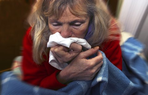 PÅ VEI: Influensaen har kommet til distriktet, og som i resten av landet vil forekomsten øke i ukene som kommer.