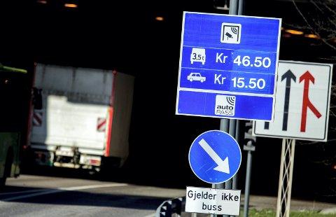DISKUTERER TAKSTER: Partene i Oslopakke 3-forhandlingene diskuterer fortsatt det nye takstsystemet i bomringen. Foto: Scanpix