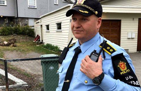 BE ROM TIPS: Politiets innsatsleder, Roger Pettersen. FOTO: CHRISTER SPABERG