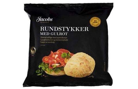 IKKE SPIS:  Jacobs Utvalgte Rundstykker med gulrot med holdbarhetsdato 3. august 2021 trekkes tilbake fra markedet.