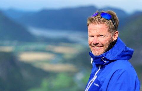 NYTTIG: Eric Berglund i Expa Travel  er en av de 30 bedriftene som til nå har benyttet seg av Rådføringskanalen. - Det har vært nyttig, sier han.