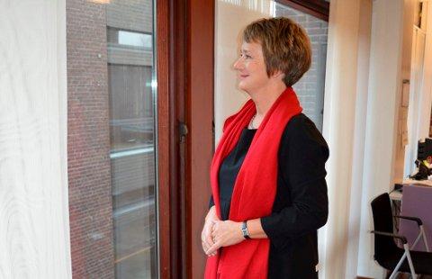 SANDEFJORD-PERIODEN OVER: Gudrun Grindaker sier opp frivillig og blir pensjonist i Sandefjord kommune fra 1. april 2018.