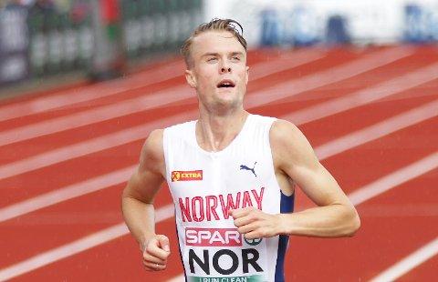 Filip Ingebrigtsen har løpt i tre stevner den siste uken.