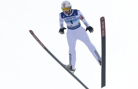 SUPER DEBUT: Fredrik Eirinsønn Villumstad taklet nerver og ble beste norske på 11. plass under junior-VM.