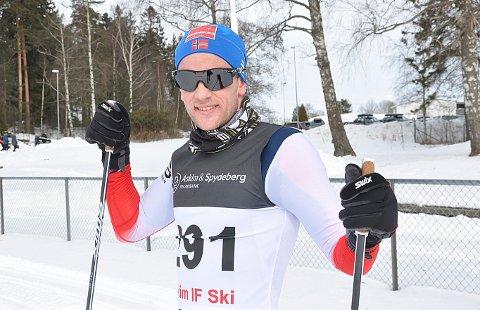 ENDELIG: Espen Udjus Frorud fra Skiptvet IL tok NM-bronse på femmila i langrenn.