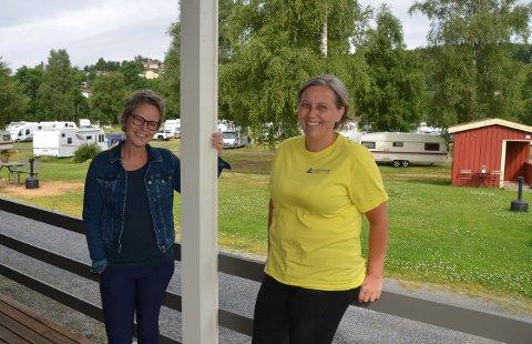 Ragnhild Maatla Salomonsen og Sølvi Strand i Vidu har store planer for utvikling av Guldbergaunet camping.