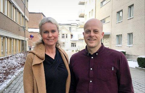 FIKK LEDERJOBBEN: Mari Lunde (53) tar over som ny virksomhetsleder på Borge skole, mens Tor Gjermund Midtbø (37) er ny virksomhetsleder på Myrene skole.