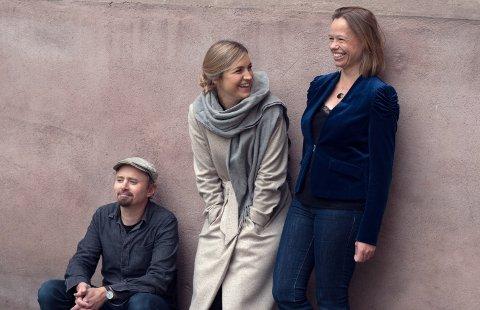 TRIO: Med hardingfele, cello, vibrafon og glass skaper kammerfolk-trioen Slagr et helt spesielt musikalsk landskap. Gruppa består av Amund Sjølie Sveen, Katrine Schiøtt og Anne Hytta.