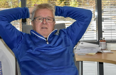 FORTVILER: Daglig leder i Notodden Fotball, Per Arne Hansen, synes det er trist at folk ikke ser hva Notodden Fotball har bidratt med de siste årene.