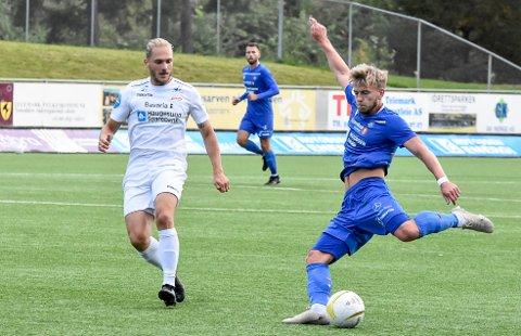 VARD: Det kan bli et nytt oppgjør mellom NFK og Vard i 2021. Da får vi i såfall håpe på et bedre resultat for Kristian Kjeverud Eggen og Martin Holmen enn i år. Da endte det 0-4 på Optime Arena.