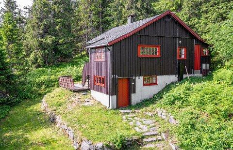 DOBLET PÅ ETT ÅR: Denne hytten på Lifjell ble solgt privat for 600 000 kroner for ett år siden. Nå er den lagt ut på nytt for mer enn det dobbelte.