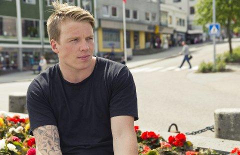 PÅ PIREN: Per Christian Værnes skulle bli utenlandsk fotballproff. Han ble håndballproff i Stavanger i stedet.