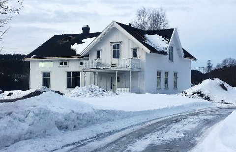 ØVELSE: I dag går dette huset opp i røyk. Med overlegg.