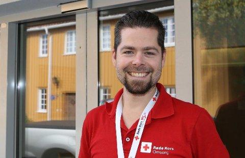 SOMMERLEIRHJELP: Joakim Barnholdt ønsker å se deg på Røde Kors-huset i Tønsberg onsdag kveld.