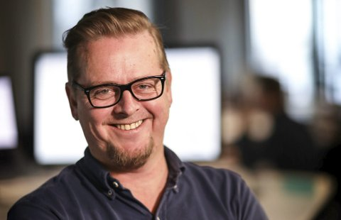 Byråleder: Øystein Hjorthaug fra Tvedestrand er nå leder for et stort kommunikasjonsbyrå i Kristiansand. Privat foto