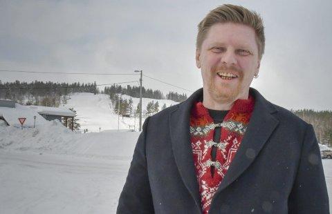 Tar utfordringen: Den nye lederen for Vegårshei FrP ser frem til å engasjere seg i lokalpolitikken. Foto: Mette Urdahl
